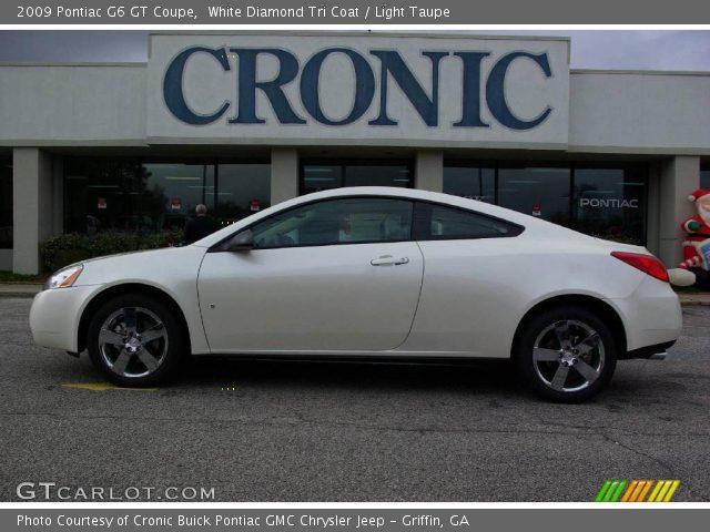 2009 Pontiac G6 GT Coupe in White Diamond Tri Coat