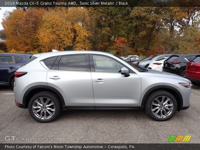 2019 Mazda CX-5 Grand Touring AWD in Sonic Silver Metallic