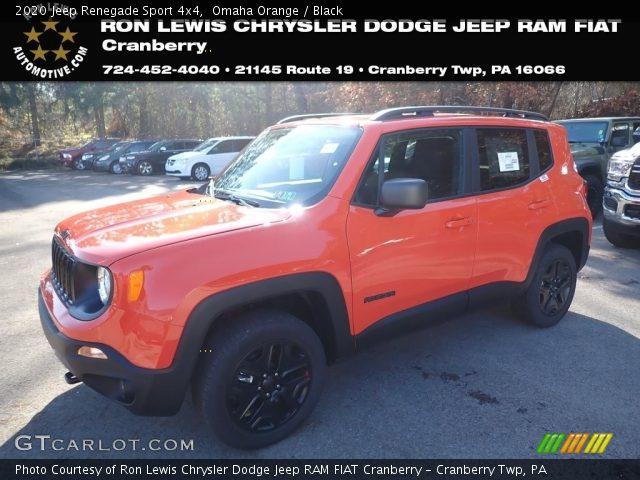 2020 Jeep Renegade Sport 4x4 in Omaha Orange
