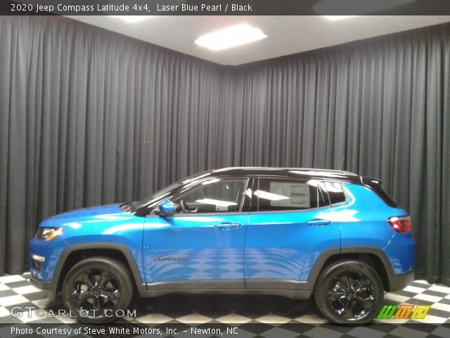 2020 Jeep Compass Latitude 4x4 in Laser Blue Pearl