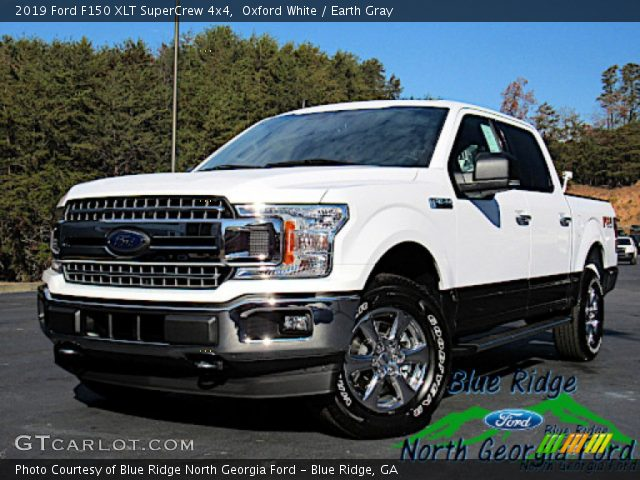 2019 Ford F150 XLT SuperCrew 4x4 in Oxford White