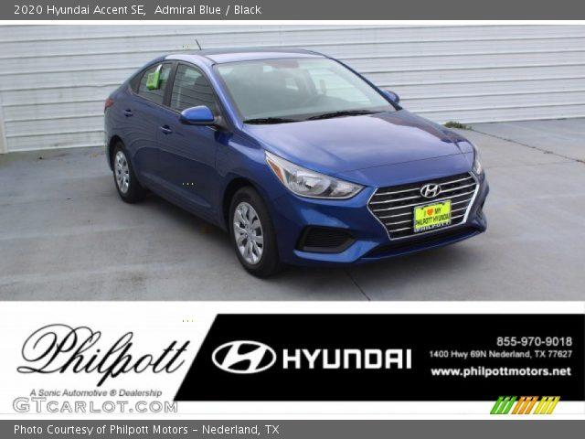 2020 Hyundai Accent SE in Admiral Blue