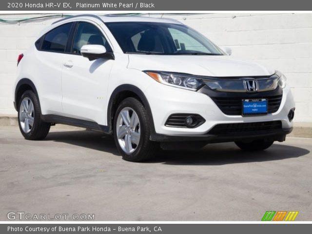 2020 Honda HR-V EX in Platinum White Pearl