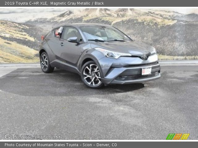 2019 Toyota C-HR XLE in Magnetic Gray Metallic