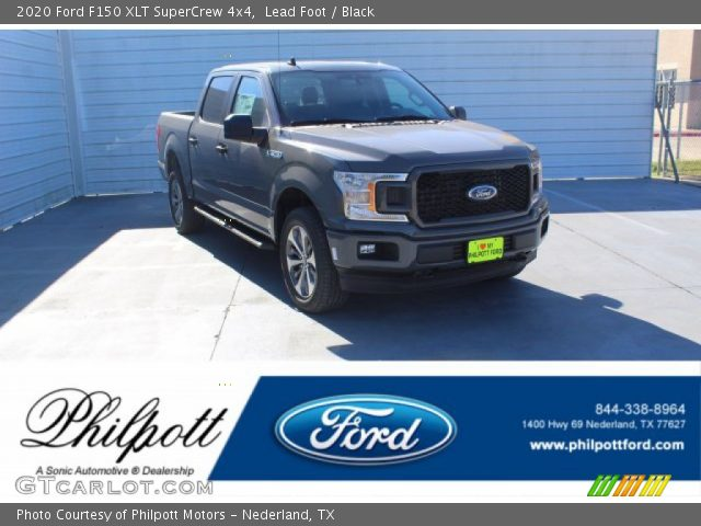 2020 Ford F150 XLT SuperCrew 4x4 in Lead Foot