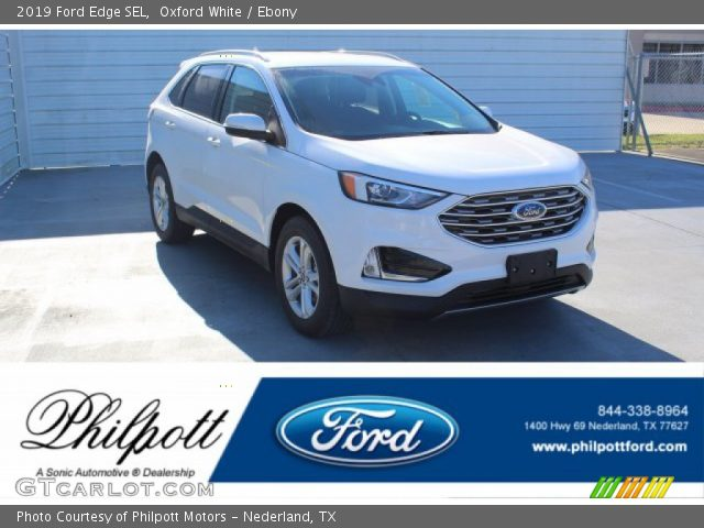 2019 Ford Edge SEL in Oxford White