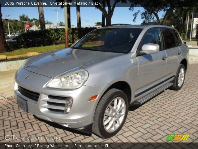 2009 Porsche Cayenne  in Crystal Silver Metallic