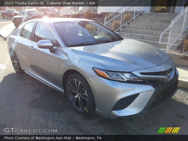 2020 Toyota Camry SE in Celestial Silver Metallic