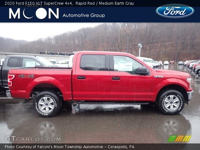 2020 Ford F150 XLT SuperCrew 4x4 in Rapid Red