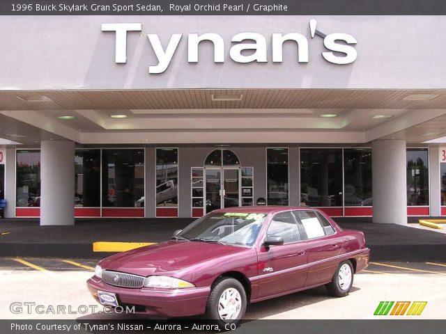 Buick Skylark 1996. Royal Orchid Pearl 1996 Buick