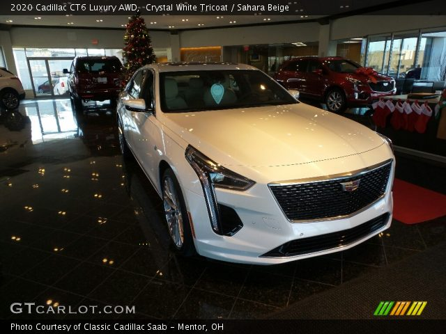 2020 Cadillac CT6 Luxury AWD in Crystal White Tricoat