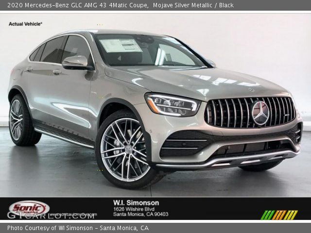 2020 Mercedes-Benz GLC AMG 43 4Matic Coupe in Mojave Silver Metallic