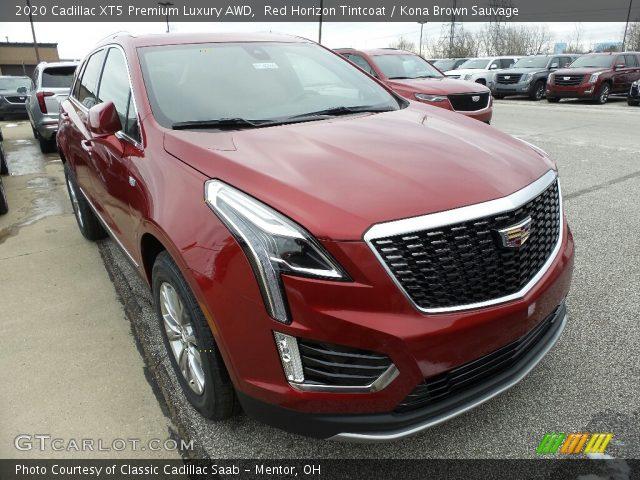2020 Cadillac XT5 Premium Luxury AWD in Red Horizon Tintcoat