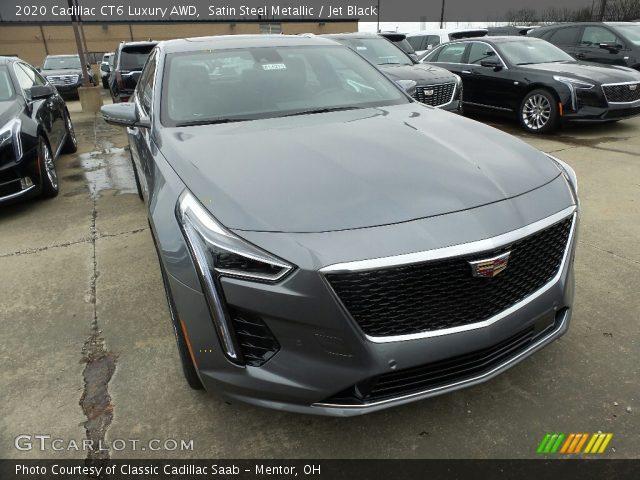 2020 Cadillac CT6 Luxury AWD in Satin Steel Metallic