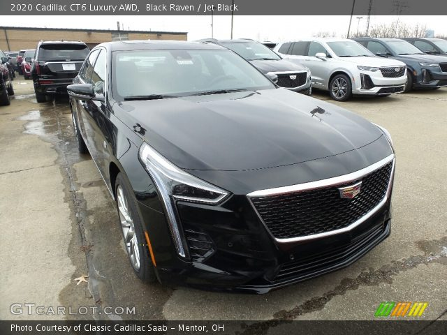 2020 Cadillac CT6 Luxury AWD in Black Raven