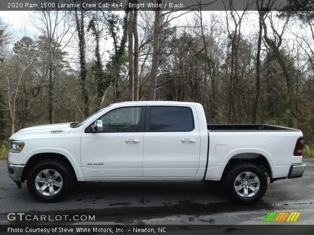 2020 Ram 1500 Laramie Crew Cab 4x4 in Bright White