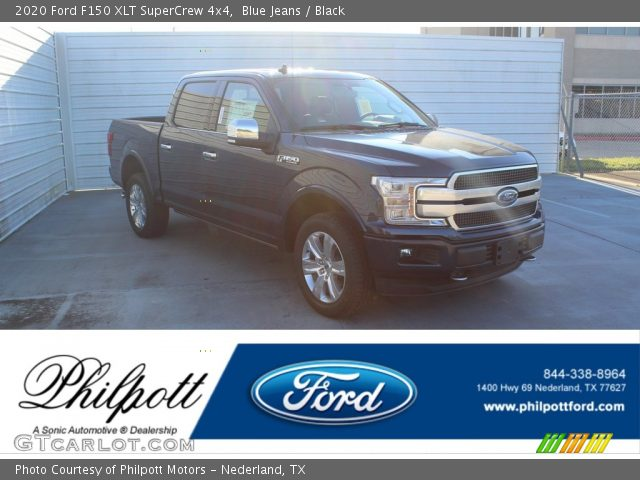 2020 Ford F150 XLT SuperCrew 4x4 in Blue Jeans