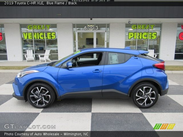 2019 Toyota C-HR XLE in Blue Flame