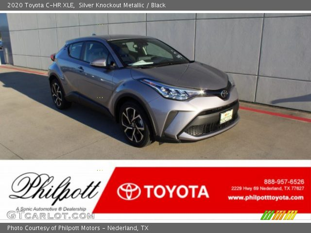 2020 Toyota C-HR XLE in Silver Knockout Metallic