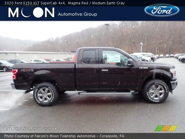 2020 Ford F150 XLT SuperCrew 4x4 in Magma Red