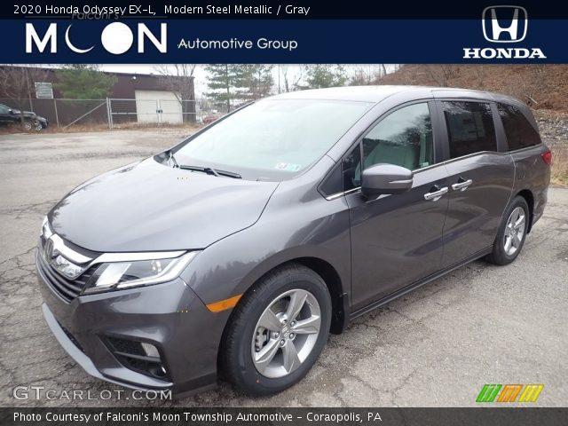 2020 Honda Odyssey EX-L in Modern Steel Metallic