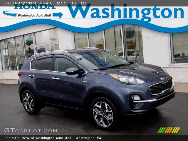 2020 Kia Sportage EX AWD in Pacific Blue