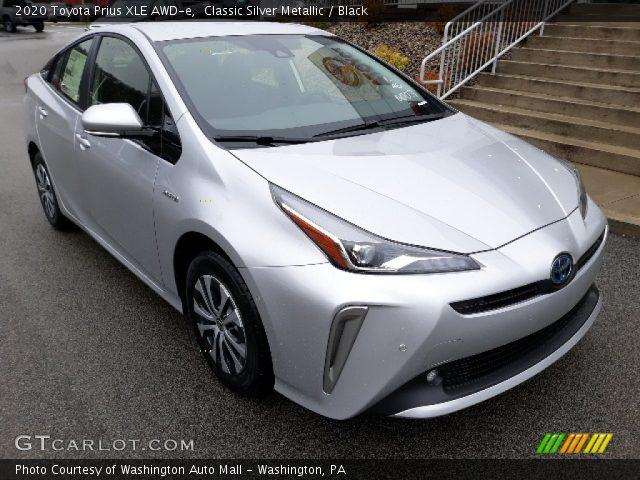 2020 Toyota Prius XLE AWD-e in Classic Silver Metallic