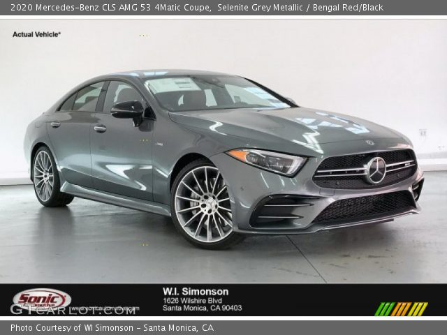 2020 Mercedes-Benz CLS AMG 53 4Matic Coupe in Selenite Grey Metallic