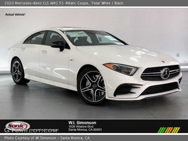 2020 Mercedes-Benz CLS AMG 53 4Matic Coupe in Polar White