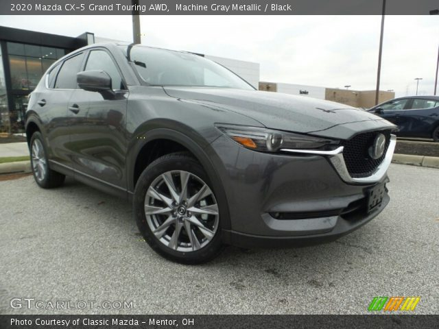 2020 Mazda CX-5 Grand Touring AWD in Machine Gray Metallic