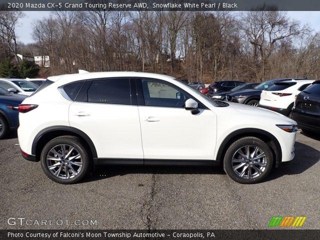 2020 Mazda CX-5 Grand Touring Reserve AWD in Snowflake White Pearl