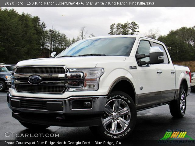 2020 Ford F150 King Ranch SuperCrew 4x4 in Star White
