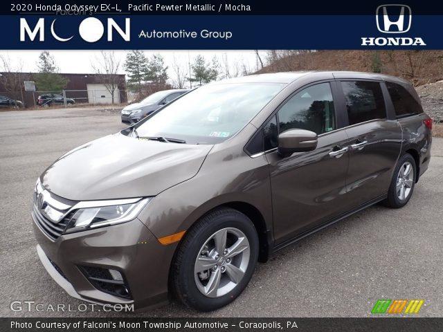 2020 Honda Odyssey EX-L in Pacific Pewter Metallic