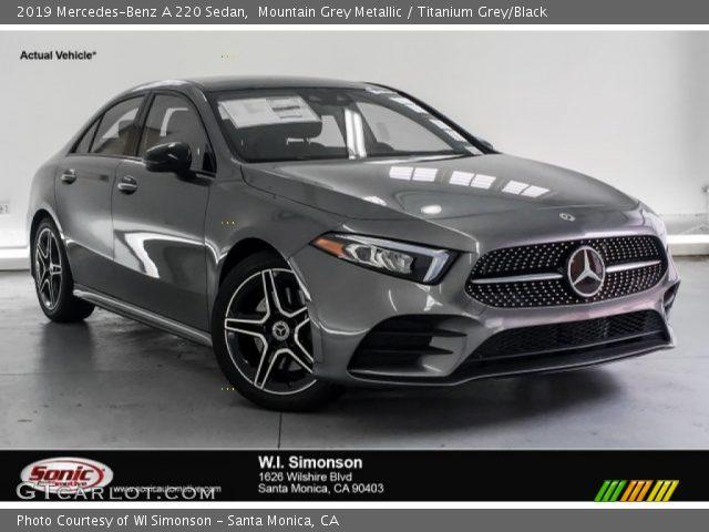 2019 Mercedes-Benz A 220 Sedan in Mountain Grey Metallic