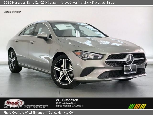 2020 Mercedes-Benz CLA 250 Coupe in Mojave Silver Metallic