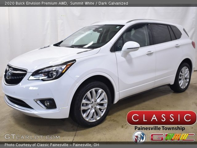 2020 Buick Envision Premium AWD in Summit White