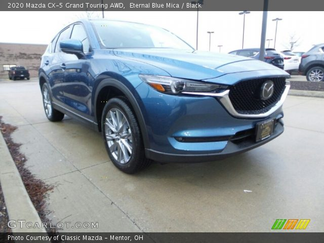 2020 Mazda CX-5 Grand Touring AWD in Eternal Blue Mica