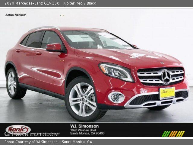 2020 Mercedes-Benz GLA 250 in Jupiter Red
