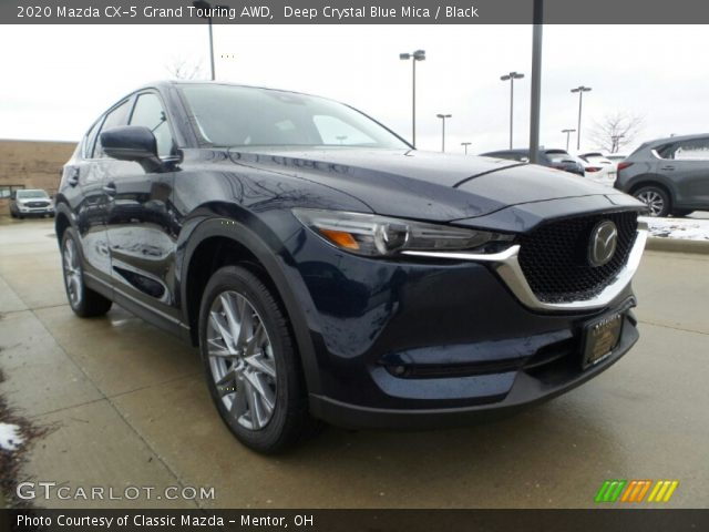 2020 Mazda CX-5 Grand Touring AWD in Deep Crystal Blue Mica