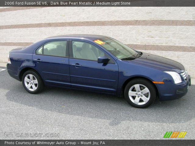 2006 Ford Fusion Se V6 In Dark Blue Pearl Metallic