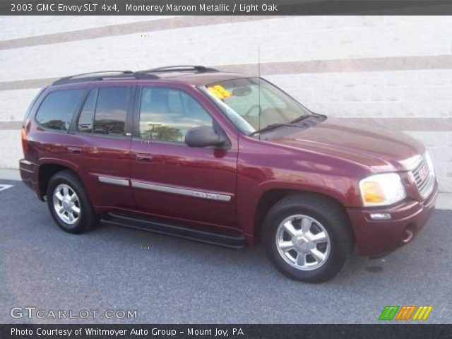 monterey maroon metallic 2003 gmc envoy slt 4x4 light. Black Bedroom Furniture Sets. Home Design Ideas