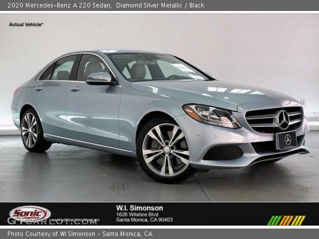 2020 Mercedes-Benz A 220 Sedan in Diamond Silver Metallic