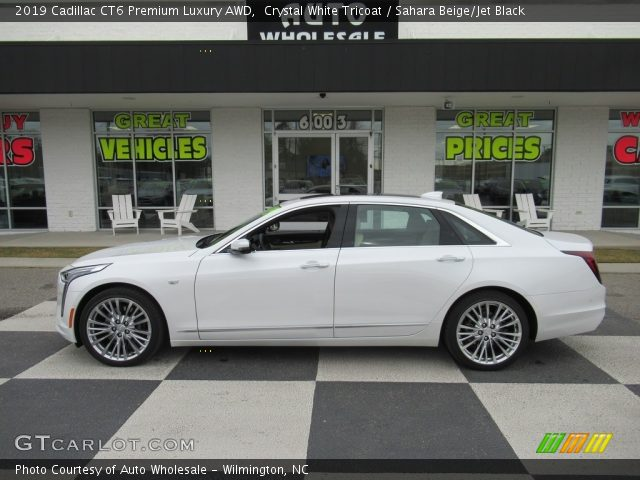 2019 Cadillac CT6 Premium Luxury AWD in Crystal White Tricoat