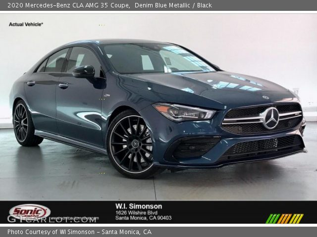2020 Mercedes-Benz CLA AMG 35 Coupe in Denim Blue Metallic