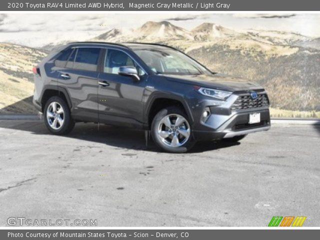 2020 Toyota RAV4 Limited AWD Hybrid in Magnetic Gray Metallic