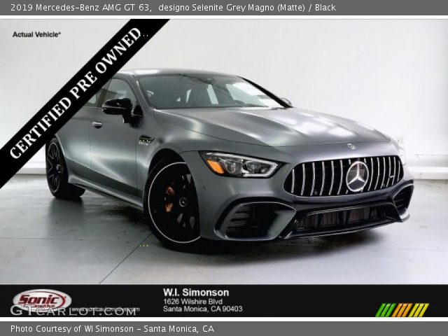 2019 Mercedes-Benz AMG GT 63 in designo Selenite Grey Magno (Matte)