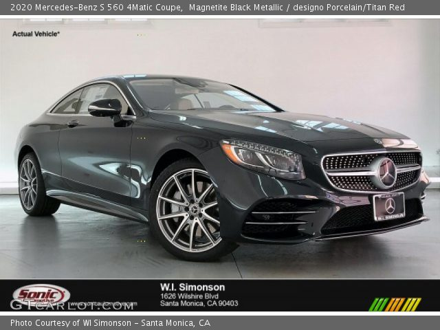 2020 Mercedes-Benz S 560 4Matic Coupe in Magnetite Black Metallic