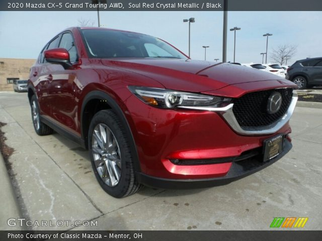 2020 Mazda CX-5 Grand Touring AWD in Soul Red Crystal Metallic
