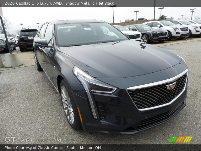 2020 Cadillac CT6 Luxury AWD in Shadow Metallic