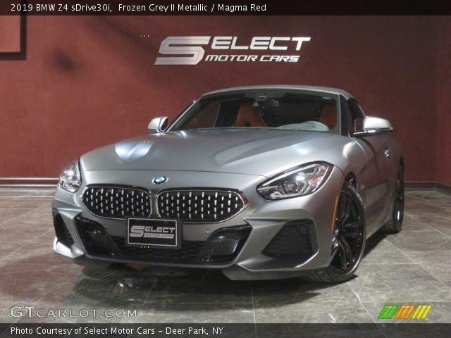 2019 BMW Z4 sDrive30i in Frozen Grey II Metallic